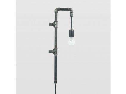 Lampa Wand ocelová malá