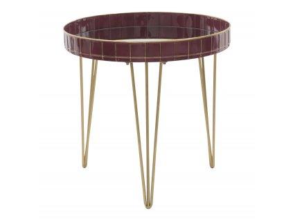 Konferenční stolek GLAM BORDEAUX