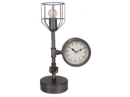 Stolní lampa INDUSTRY CLOCK 26X15X45