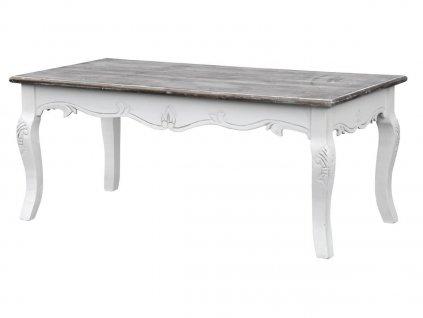 Konferenční stolek Rimini bílý 027