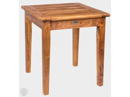 Teakový stůl 70x70 cm DANTE