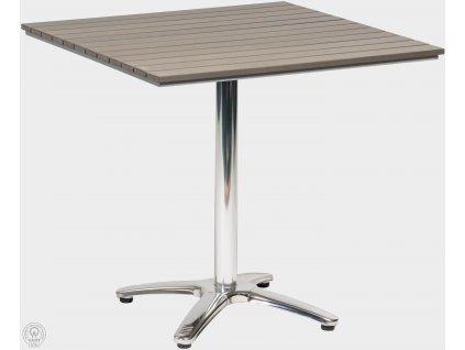 Stolová podnož z hliníku MANUEL stolová podnož z hliníku bez desky