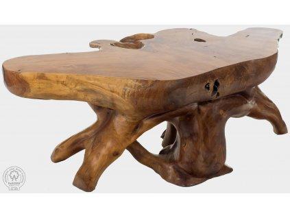 Teakový konferenční stolek ROOT