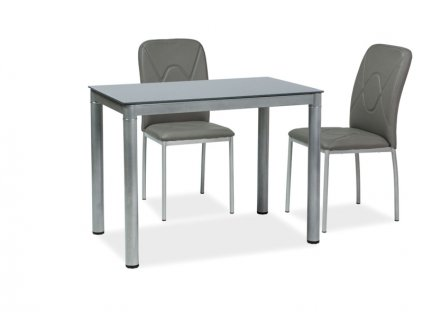 Stůl GALANT šedý 100x60
