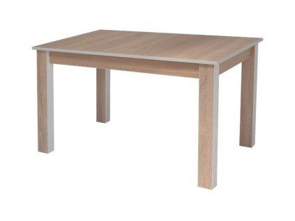 Stůl ORIS dub sonoma/bílý 100x60