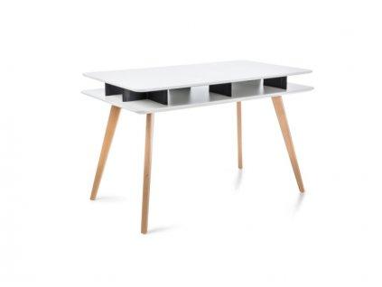 Stůl ROTELLO bílý