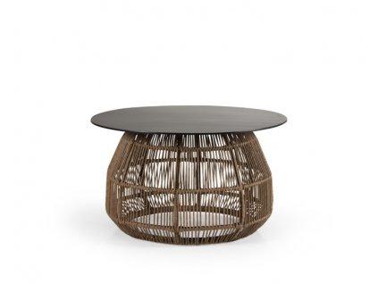 stolek hnědý