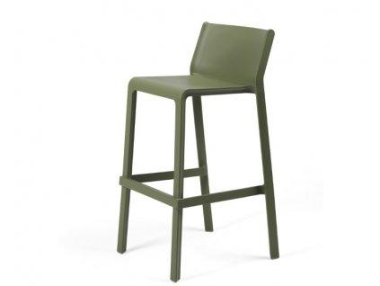 Trill barové židle zelené