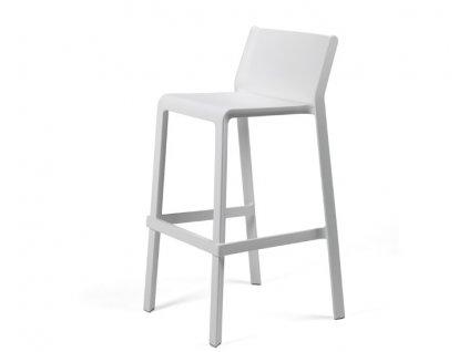 Trill barové židle bílé