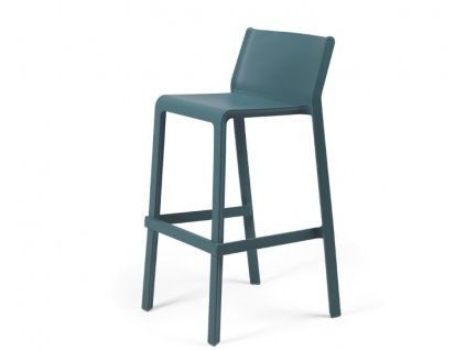 Trill barové židle modré