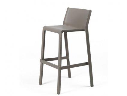 Trill barové židle tmavošedé