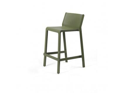 Barová židle Trill mini zelená
