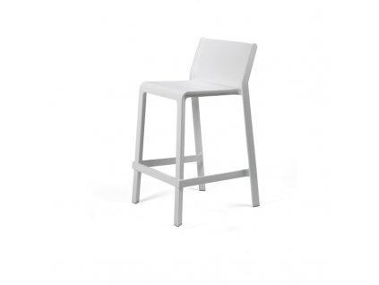 Barové židle Trill mini bílá