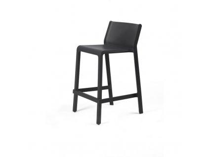 Barová židle Trill mini grafitová