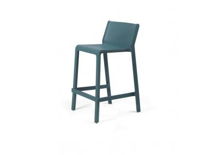 Barová židle Trill mini modrá