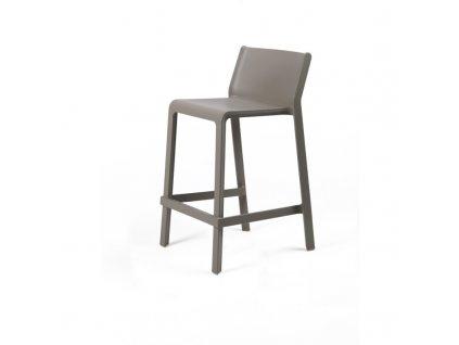 Barová židle Trill mini tmavošedá