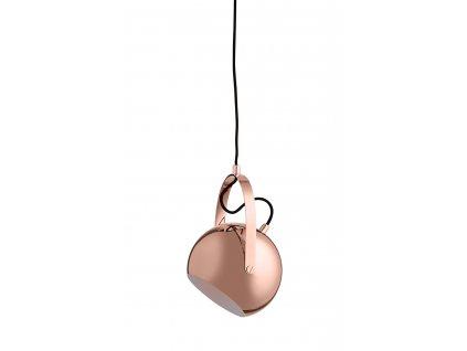 FRANDSEN závěsná lampa BALL L měděná