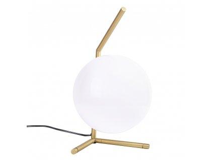 Kancelářská lampa HALM 1 - mosaz, sklo