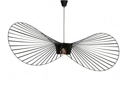 Závěsná lampa CAPELLO průměr 140 černá