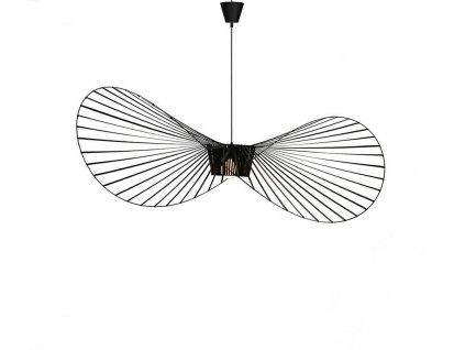 Závěsná lampa CAPELLO průměr 80 černá