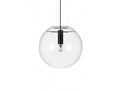 Závěsná lampa SANDRA 30 - sklo / kov