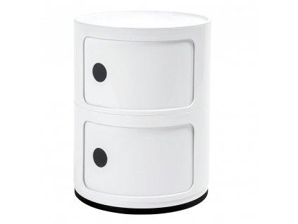 Skříňka COMBI 2 bílá