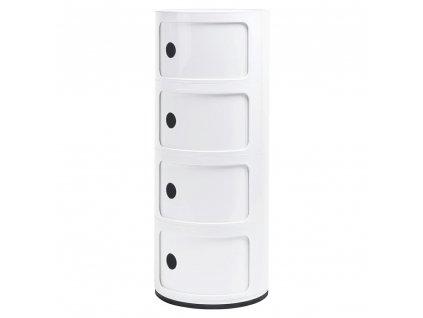 Skříňka COMBI 4 bílá