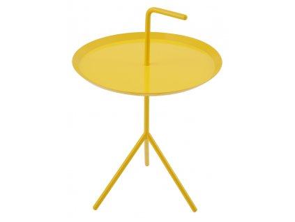 Stolek BLANCO žlutý - kov