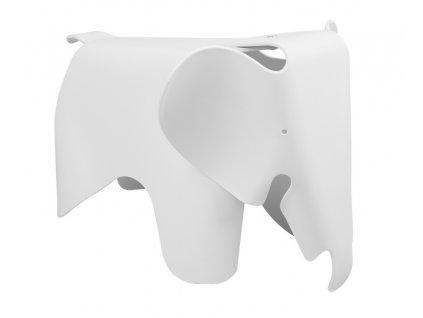 Stolek SLŮNĚ bílý - polypropylén