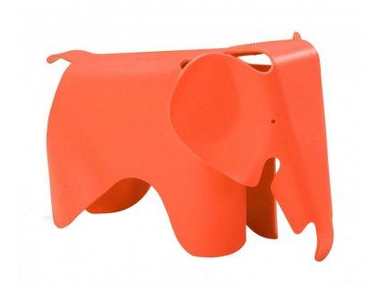 Stolek SLŮNĚ oranžový - polypropylén
