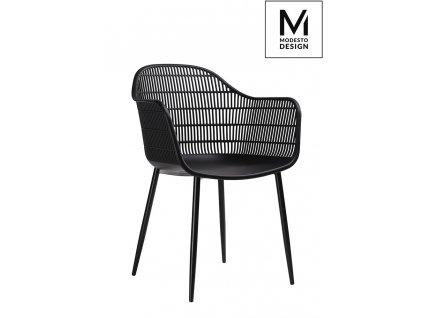 MODESTO židle BASKET černá - polypropylén