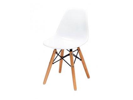 Židle dětské JUNIOR DSW PREMIUM - polypropylén, bukový základ