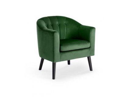 MARSHAL křeslo odpočinkové tmavě zelené