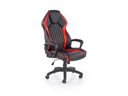 VECTOR křeslo kancelářské černé / červené