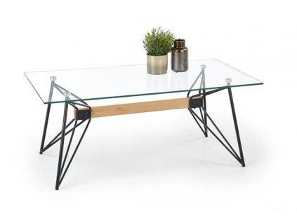 ALLEGRA stolek černý / buk
