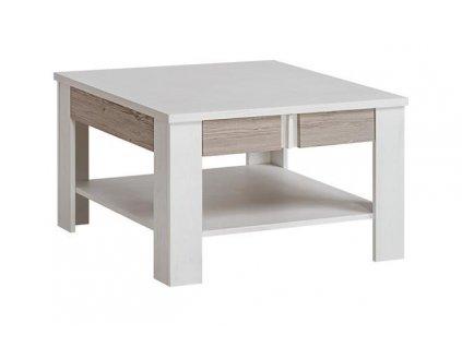 ALVO kávový stolek ANDERSEN bílý PINIE/ANDERSEN béžový