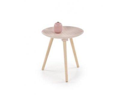 BINGO stolek světle růžový
