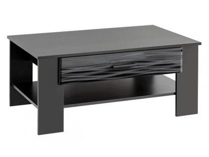 BLADE4 stolek černý / SAHARA lesk