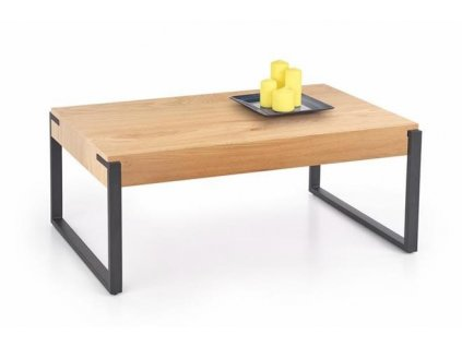 CAPRI stolek zlatý dub / černý