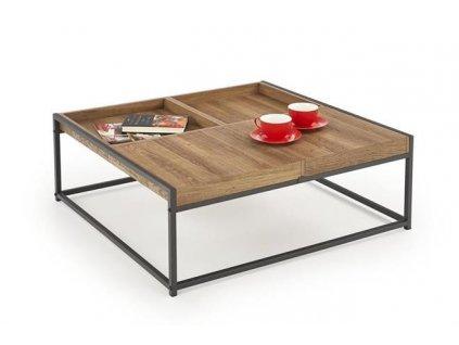 FREGATA stolek ořech velbloudí / černý