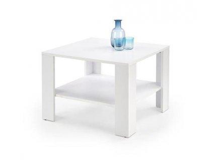 KVADRO ČTVERCOVÝ stolek bílý
