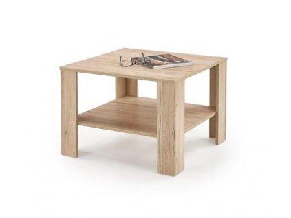 KVADRO ČTVERCOVÝ stolek barva dub San Remo