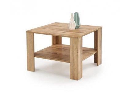 KVADRO ČTVERCOVÝ stolek barva dub Votan