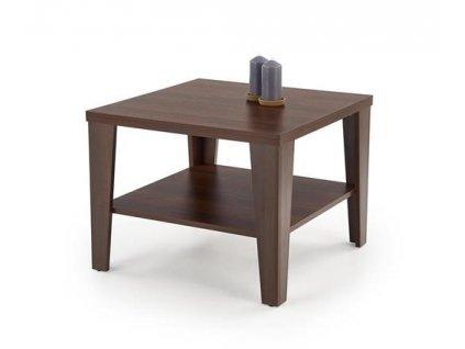 MANTA ČTVERCOVÝ stolek barva tmavý ořech
