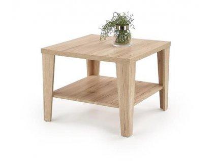 MANTA ČTVERCOVÝ stolek barva dub San Remo