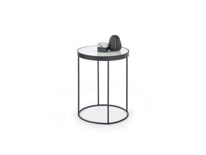 NATURO 2 stolek bílý / černý
