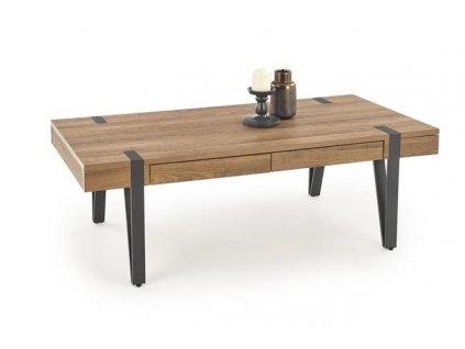 TULUZA stolek ořech velbloudí / černý