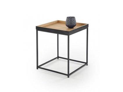 YAVA stolek dub přírodní / černý