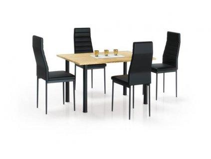 ADONIS 2 stůl zlatý dub / černý
