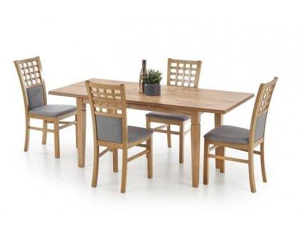 MARCEL stůl barva dub Craft (140-180x80x75 cm)
